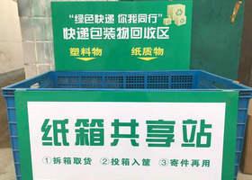 回箱计划,纸箱,快递包装回收计划