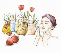 天然护肤品,有机、天然